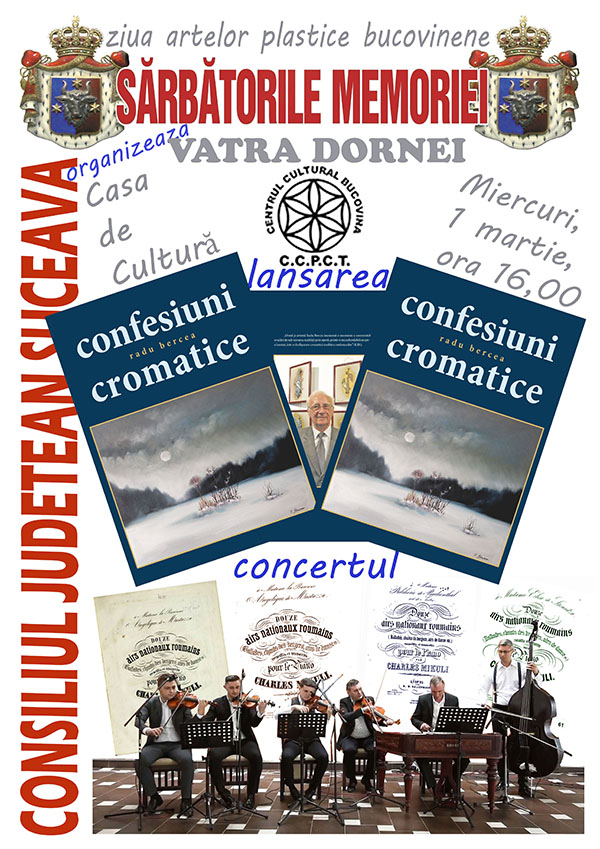 Afis CONFESIUNI CROMATICE Vatra Dornei m