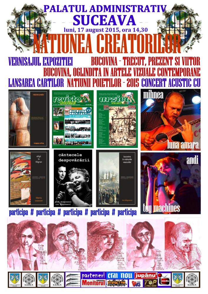 O expoziţie de pictură, poezie şi muzică