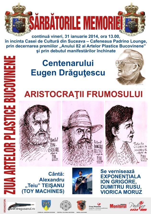 Afis Ziua Artelor Bucovinene