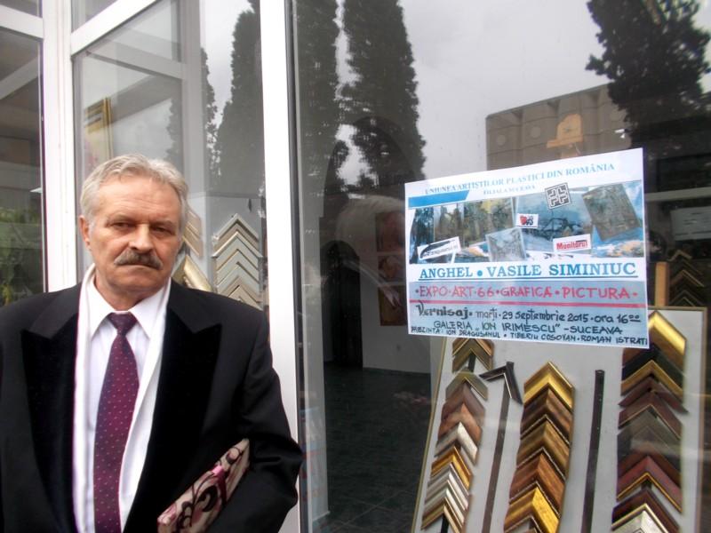 Vasile Anghel Siminiuc - Artistul şi afişul