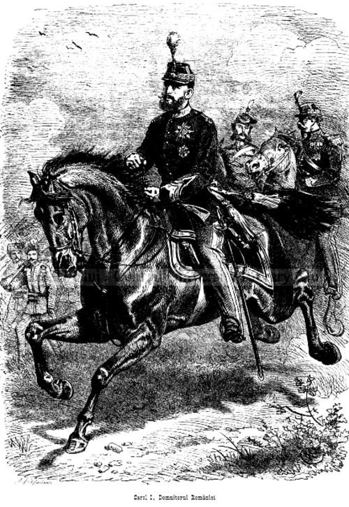 Albina martie 1878 Regele