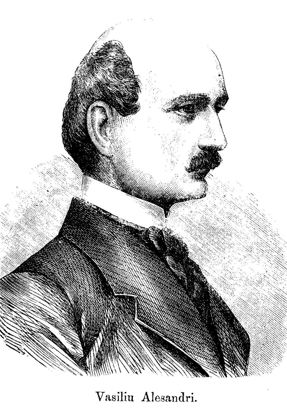 Vasile Alecsandri, în 1865