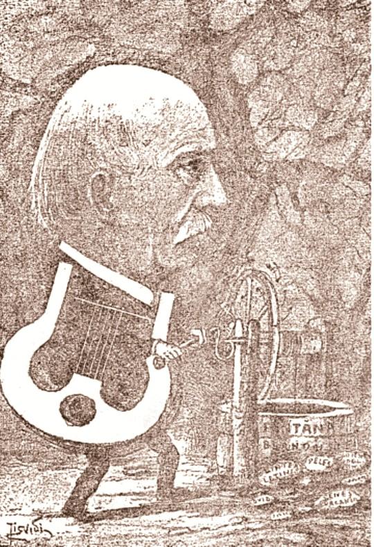 Alecsandri caricatura ARHIVA SSL n 9 1906 p 391