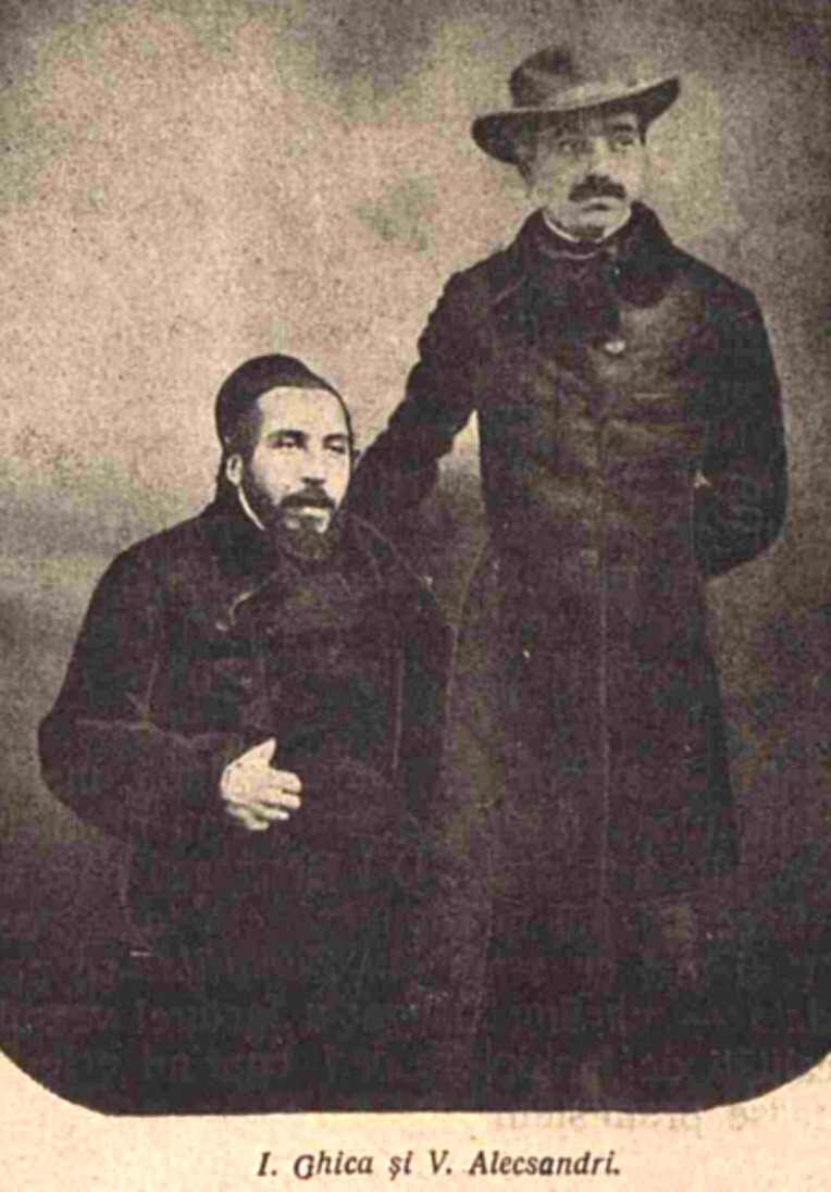 Alecsandri si Ion Ghica LUCEAFARUL n 11 1905 p 239