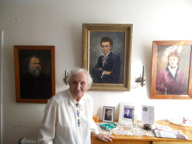 Ana Candrea Constantin cu Porumbestii
