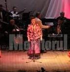 Herna Săndulean, soprană neprofesionistă, într-un foarte singur spectacol de amatori