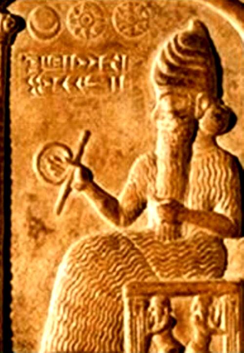 Anu, Cerul şi primul legiuitor al omenirii