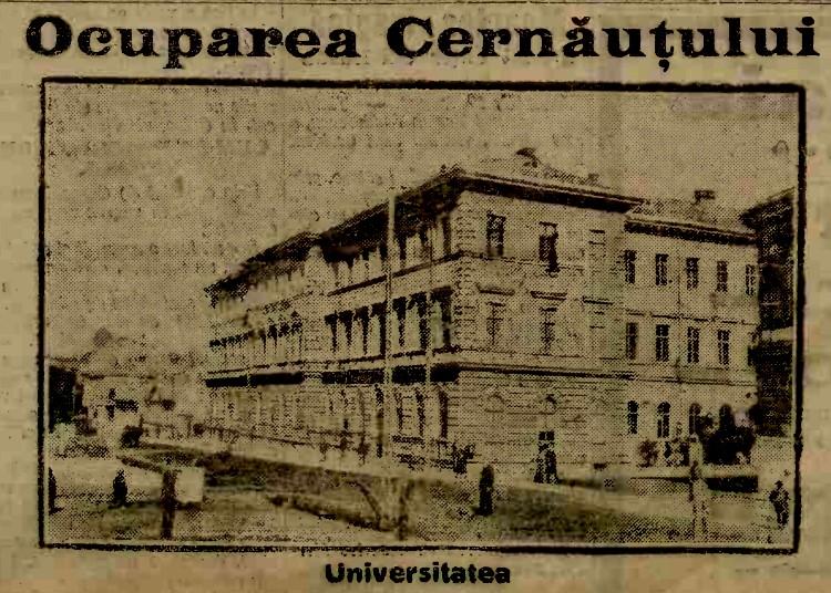 Armata rusa Cernauti Universitatea A 20 aug 1914