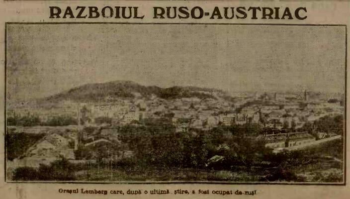 Armata rusa ocupa Lemberg A 1914 dug 23