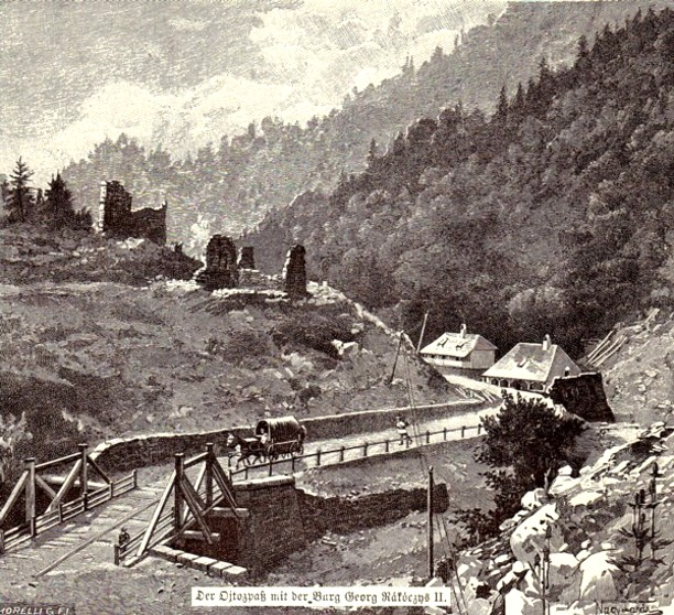 Aşezare transilvană montană