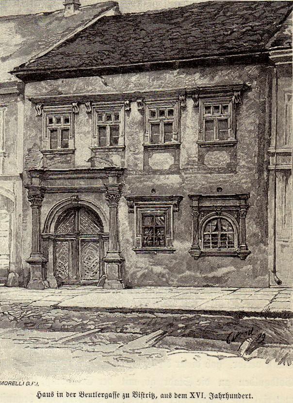 Bistriţa, casa lui Ion Pietraru