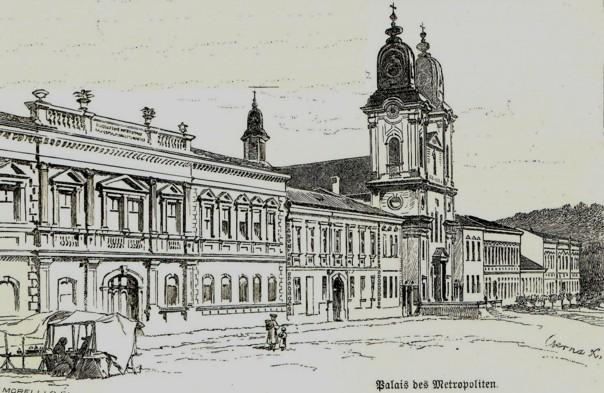 Blaj, Palatul Episcopal Ortodox