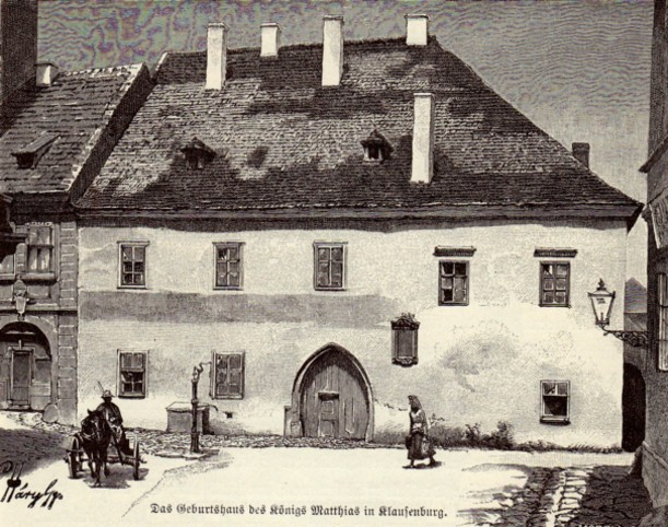 Cluj, casa lui Matthias Corvin