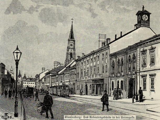 Cluj, oraş modern, chiar şi  cu secole în urmă