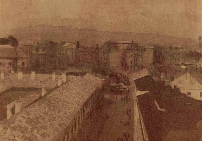 Aspect din Cernăuți, sediul celor mai mari traficanți de carne vie