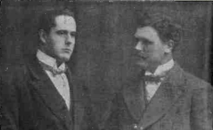 """Ilie Cătărău şi Andrei Kirilow - """"Gazeta ilustrată"""" nr. 12/1914"""