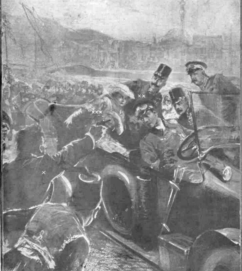 "Atentatul de la Sarajevo, în ""Gazeta ilustrată"" nr. 29/1914"