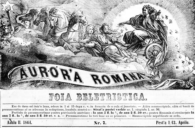 Aurora Romana 1864