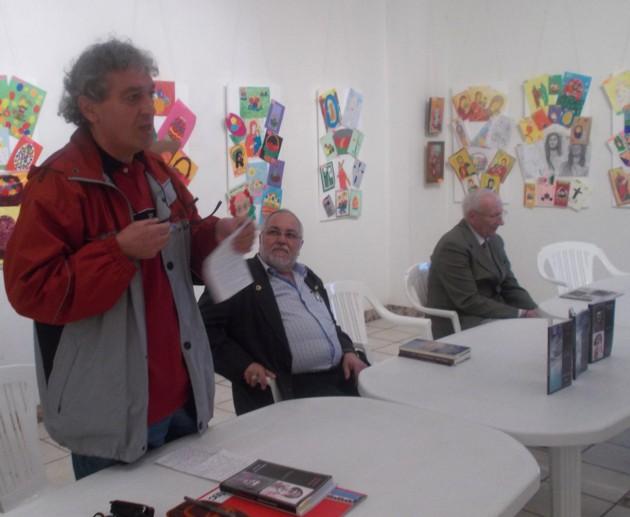 Constantin Horbovanu, Menachem M. Falek şi Radu Bercea, la Gura Humorului