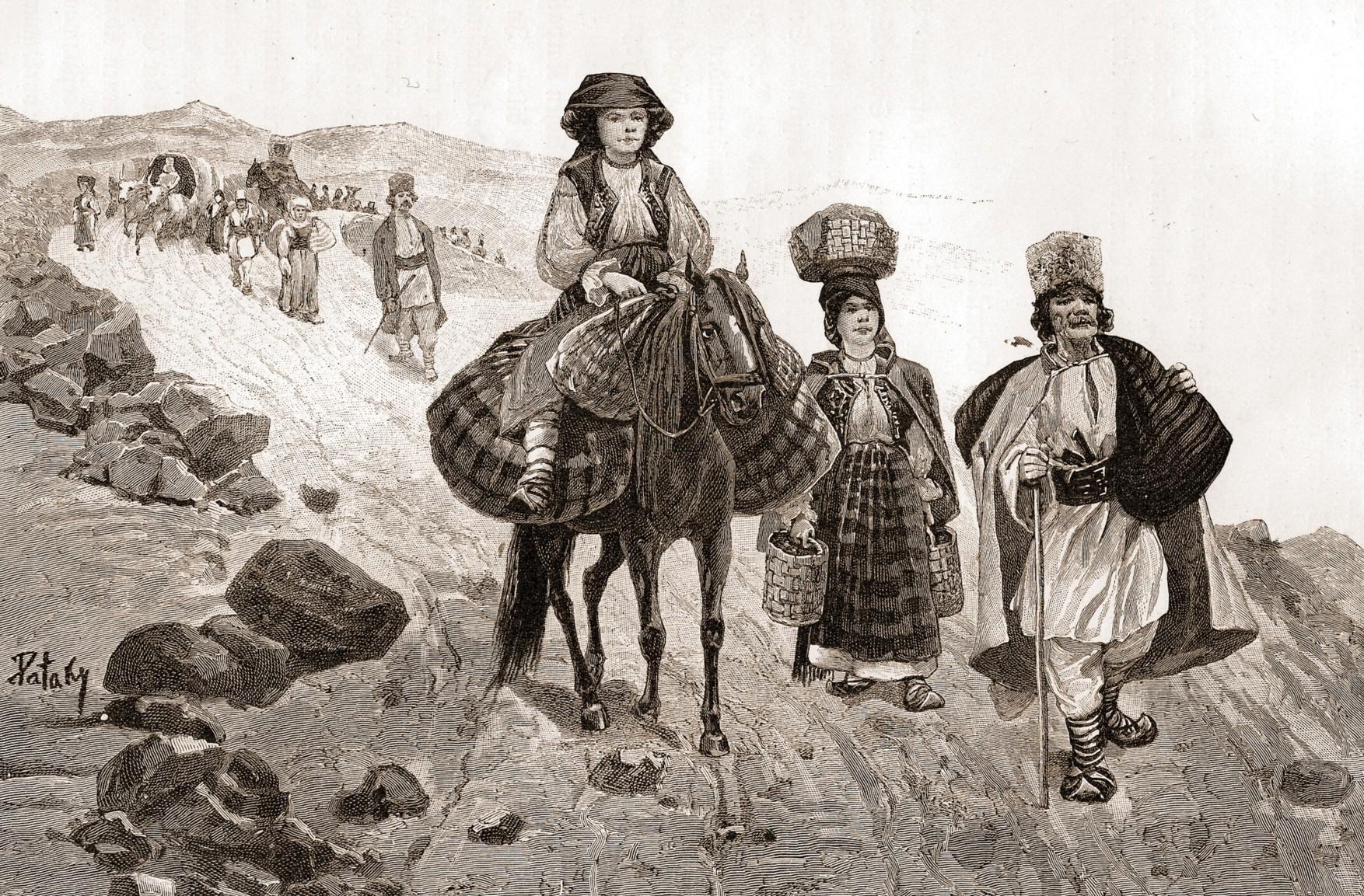 Emigranţi ardeleni, în drum spre Bucovina