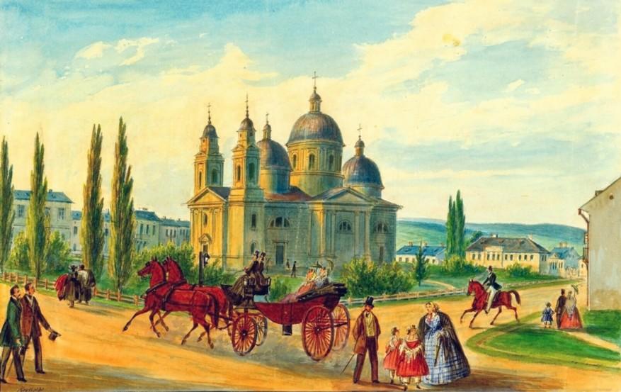 Văzuta Cernăuţilor – de Franz Xaver Knapp (1809-1883)