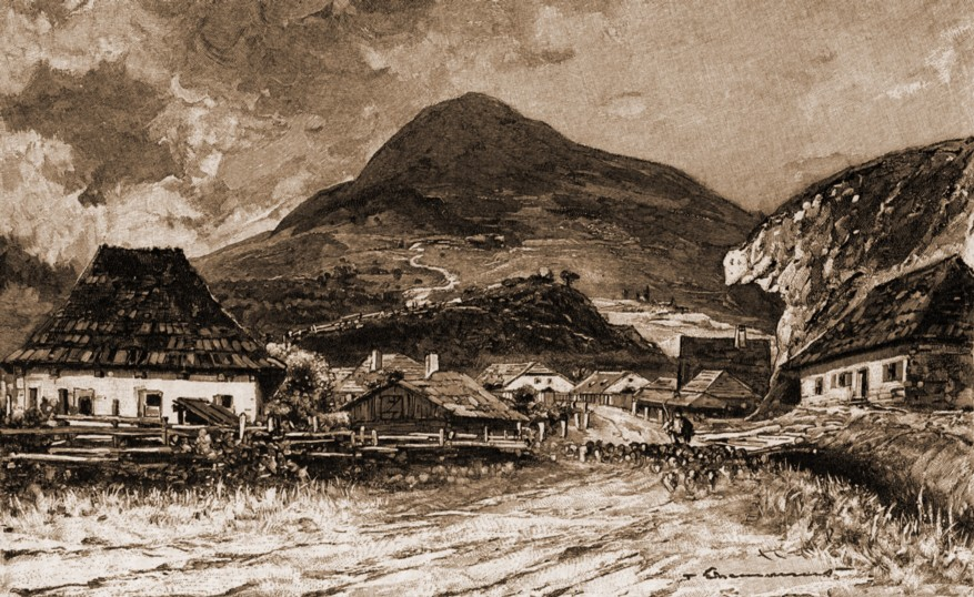 Cârlibaba – de Mattias Adolf Charlemont (1820-1871)