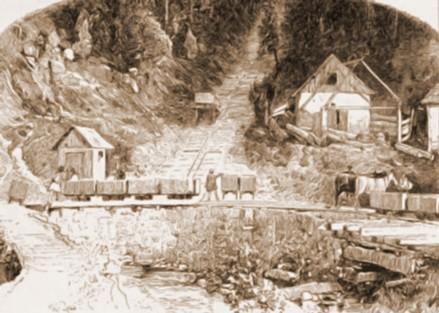 Iacobeni, minele – de Rudolf Bernt (1844-1914)