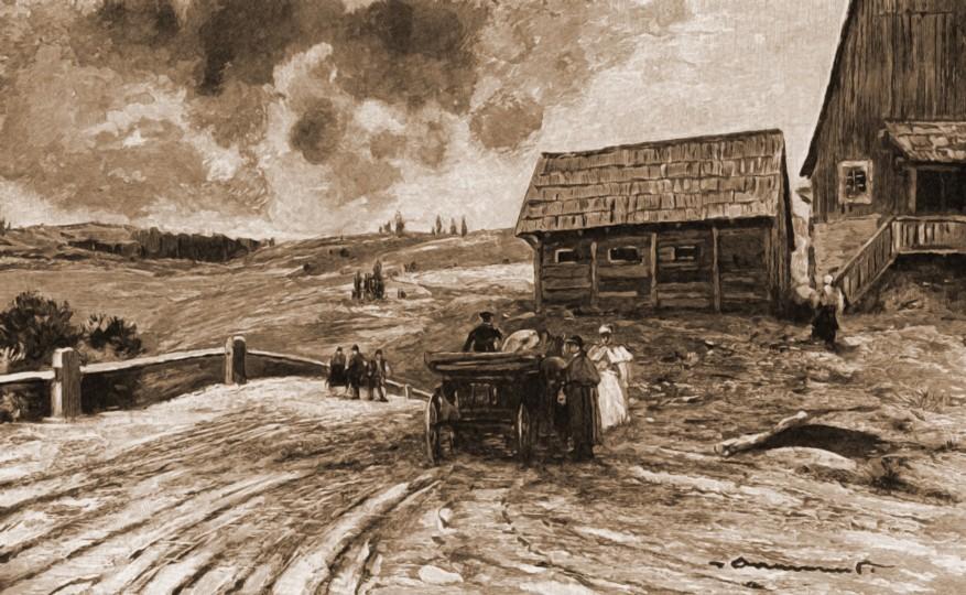 Mestecăniş – de Mattias Adolf Charlemont (1820-1871)