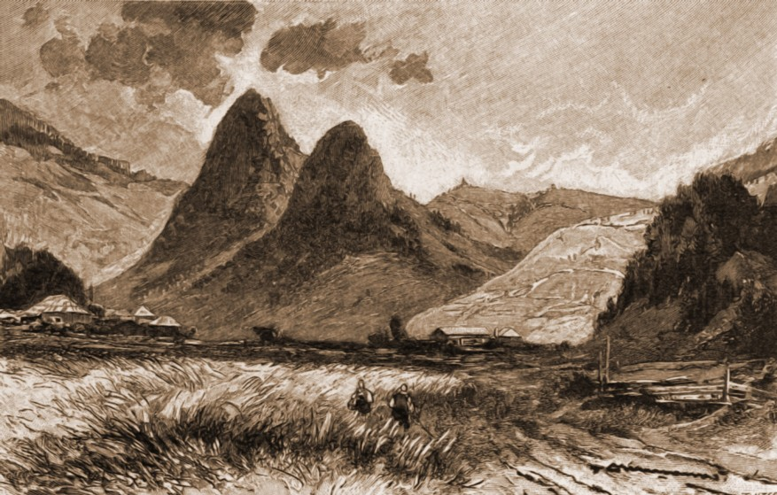 Pojorâta, munţii Adam şi Eva – de Mattias Adolf Charlemont