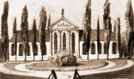 Cernăuţi, Palatul Administrativ, 1832 – de I. Schumirsz