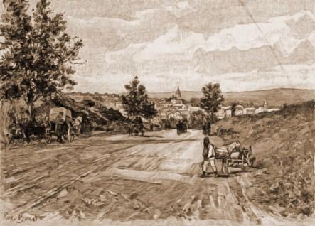 Siret – desen de Rudolf Bernt (1844-1914)