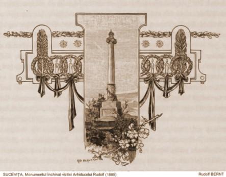 Monumentul Arhiducelui Rudolf – de Rudolf Bernt (1844-1914)
