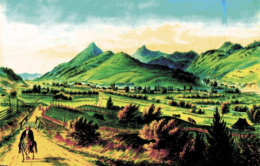 Vatra Dornei – de Franz Xaver Knapp (1809-1883)