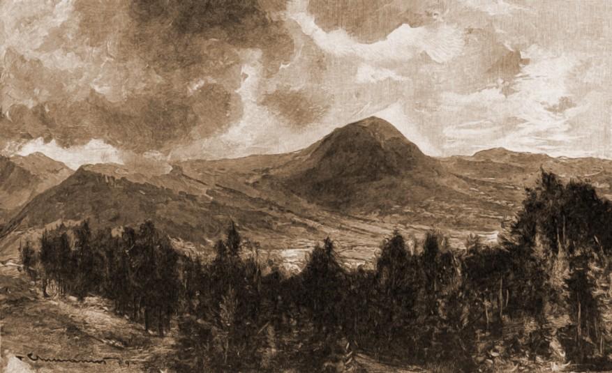 Vatra Dornei, muntele Ouşorul – de Mattias Adolf Charlemont