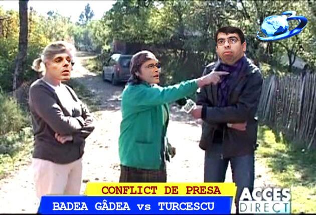 Badea Gâdea: Aista a' lu' Turcescu ni-o violat gardu', dom' ministru Cazanciuc!...