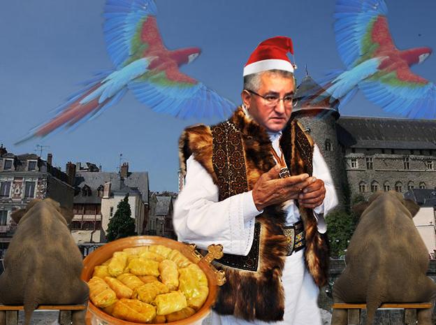Ion Lungu, primar al Sucevei: Parcâ-s Badea Scârţan, dragi suceveni, aici, în Franţa, la Laval, undi io va reprezânt ca sarmali di Prelipka, cu adivarat bucovineni!