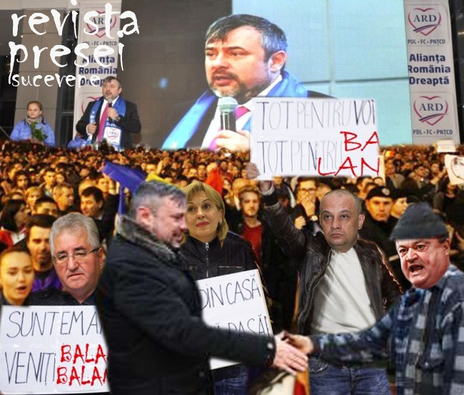 Vasile Bleaga: Balane, tu ca un Alexandru Macedon trebuie să mergi în diaspora, că lui Lungu i se rupe inima, dacă-l las fără Suceava lui dragă de muls!...