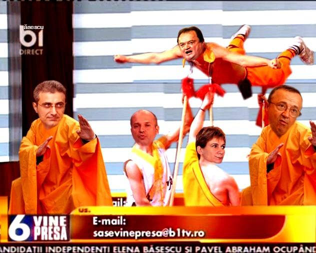Vasile Blaga: Fraţilor, chiar nu băgaţi de seamă că toţi purtăm portocaliul? De ce mă jertfiţi lui Zeus?