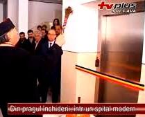 Baisanu sfintit liftul