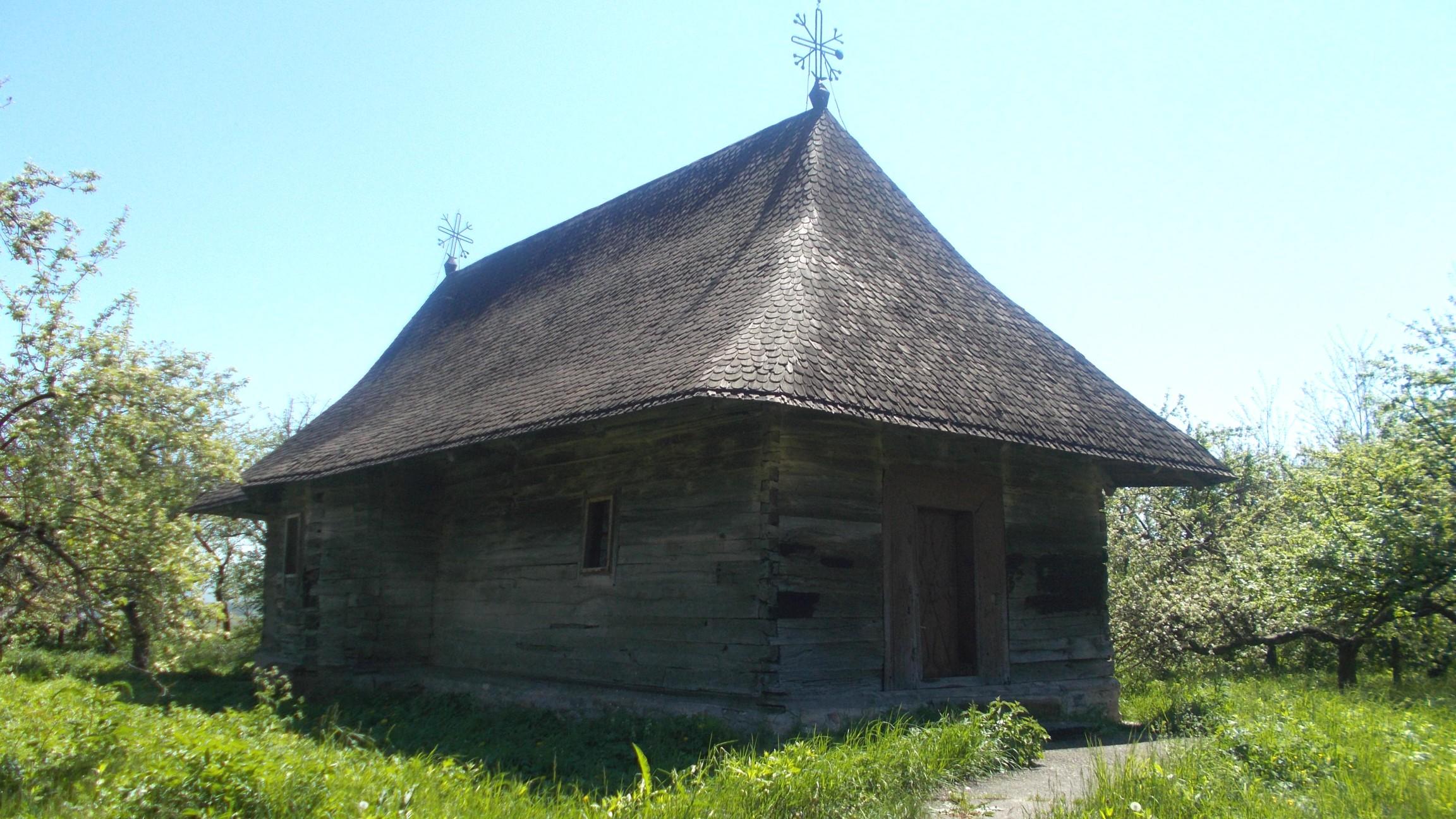 Stilul moldovenesc tradiţional al bisericii din Băneşti