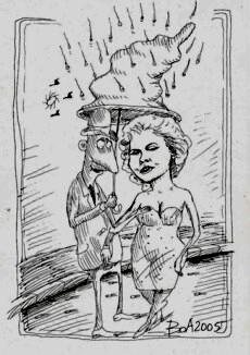 O proză de Ion Buhă, ilustrată de Ovidiu BOA