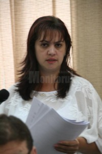 Doamna Mihaela Beldiman, cadristul-şef al C. J. Suceava