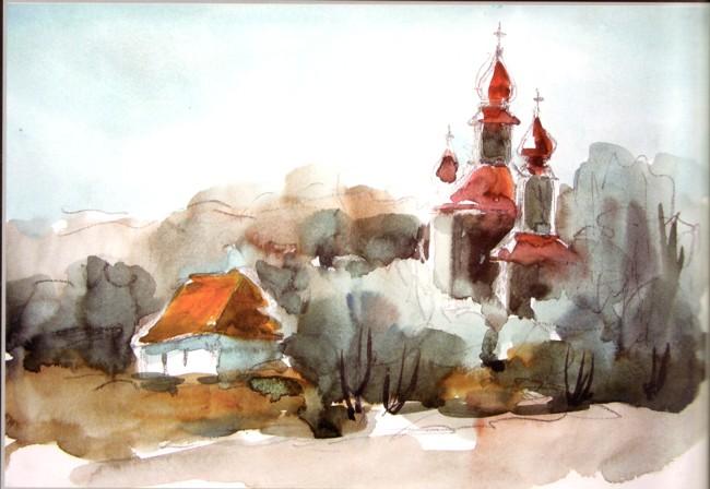Bercea acuarela 1 Kiev