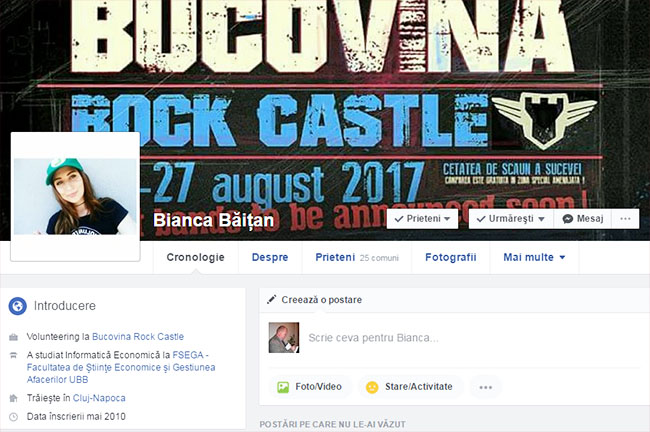 Bianca Baitan facebook