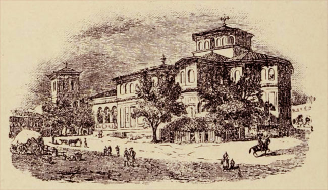 Biserica Sf. Gheorghe Nou în secolul XIX