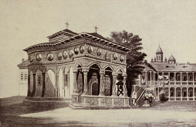 Biserica şi hanul Stavropoleus
