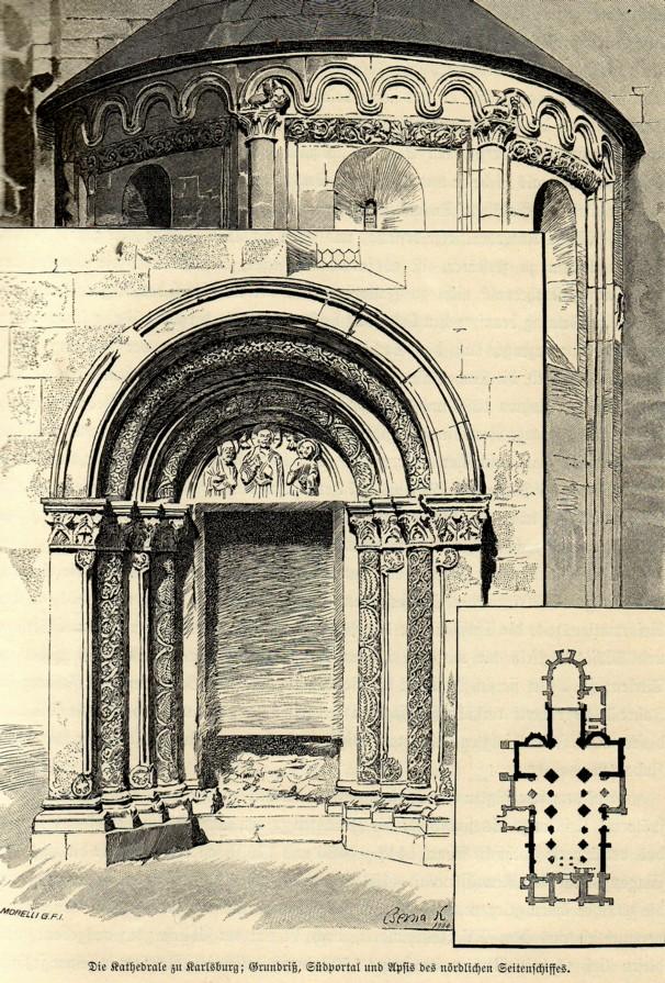 Portal de biserică transilvană