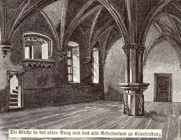 Interior Catedralei din Cluj Napoca