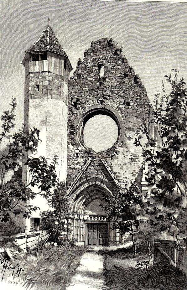 Ruina unei biserici vechi
