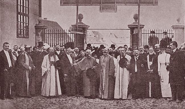 Blaj 1911 SERBĂRILE DE LA BLAJ 1911 Deschiderea expoziției